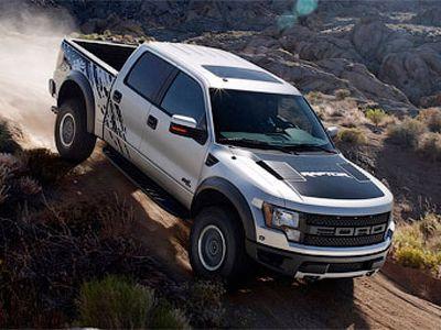 Blue and white Ford Raptor SVT !!!