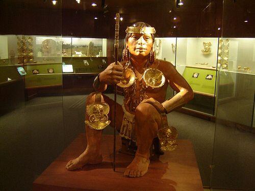 Museo del oro, Bogotá Colombia.