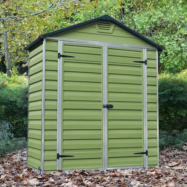 palram 6 x 3 plastic skylight shed from greenhouse stores with free uk delivery https - Garden Sheds 7 X 3
