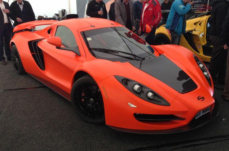 Supercar Sin R1 Orange Jeruk