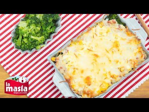 #Brócoli gratinado con #queso, jamón y huevo duro. La #receta completa, en nuestro blog.