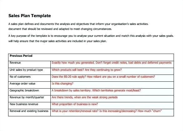 22 Sales Territory Planning Template Simple Business Plan