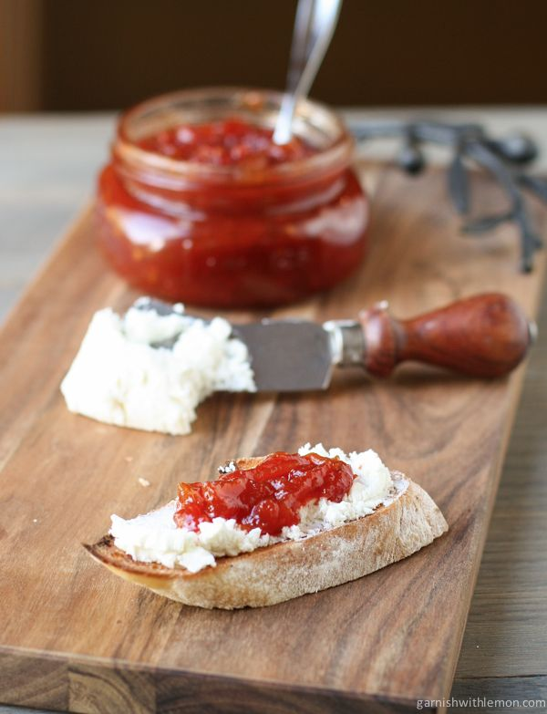 Sweet and Tangy Tomato Jam - Garnish with Lemon | Garnish with Lemon