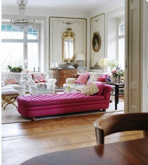Obsessed with pink? Do it nicely in your living room. Painter Perth Australia http://painterperth.com/ 0412 691 750