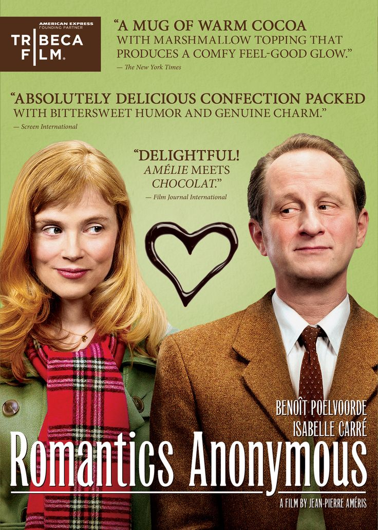 What a wonderful movie this is! A must watch for anyone who loves movies.: French Film, French Romantic, Anonymous 2010, Foreign Film, Chocolates Factories, Favorite Foreign, Romantic Comedy, Favorite Movie, Romantic Anonymous