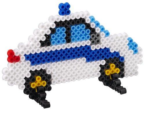 Police car hama beads - Hama 3418 Kit