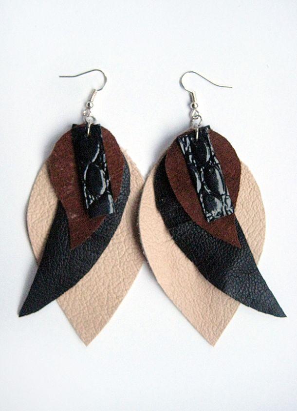 Second pair of Breathe In -earrings by Piia Myller Design  http://piiamyller.wordpress.com/