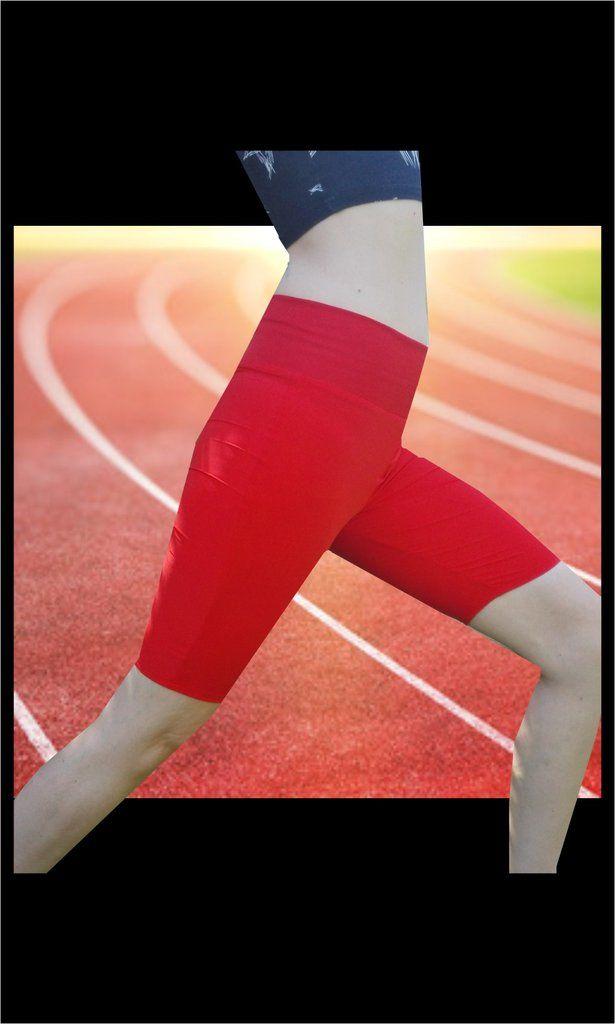 Runner's Training Shorts Sewing Pattern, Athleisure Fashion