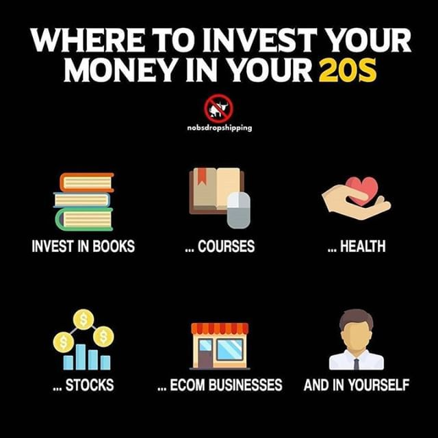 How To Invest Money In 20s