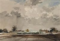 The Medway by Rowland Hilder