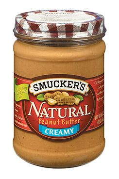 Natural Creamy Peanut Butter...somewhere between a source of healthy fat and a protein source!