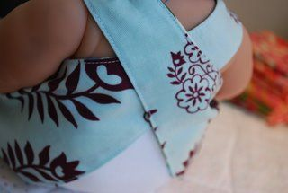 """The Blueberry Moon: """"Nakey Baby """" 2 Dresses in 1 Tutorial"""
