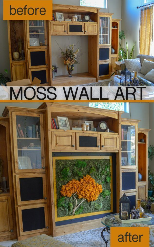 Moss Wall Art How To Make Diy Preserved Moss Art The Diy Lighthouse Moss Wall Art Moss Wall Moss Art