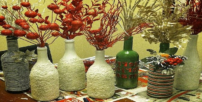 Room Decoration with Waste Material