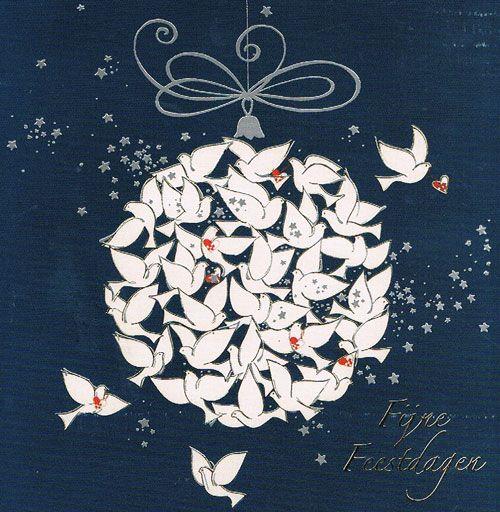 Fijne Feestdagen, Vierkante Kaarten, Kerstkaarten