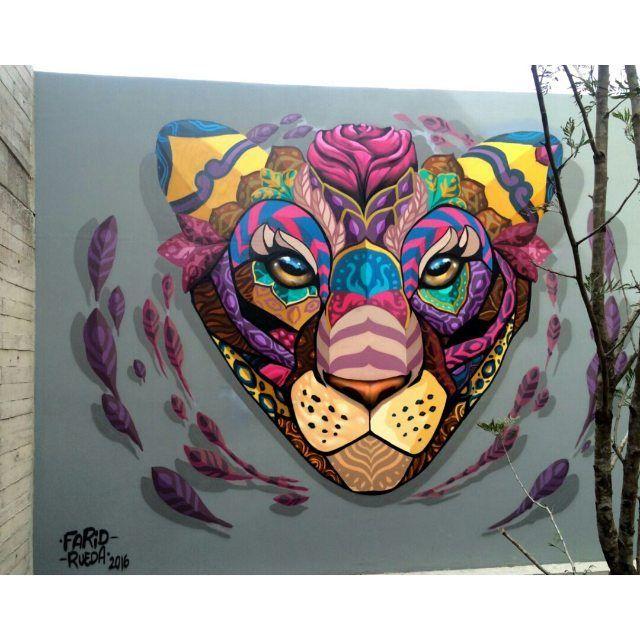 Vibrant Colorful Street Art from Farid Rueda - aviatstudios.com