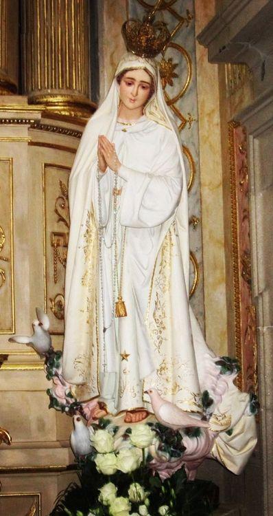 Our Lady of Fatima in Braga, Portugal.