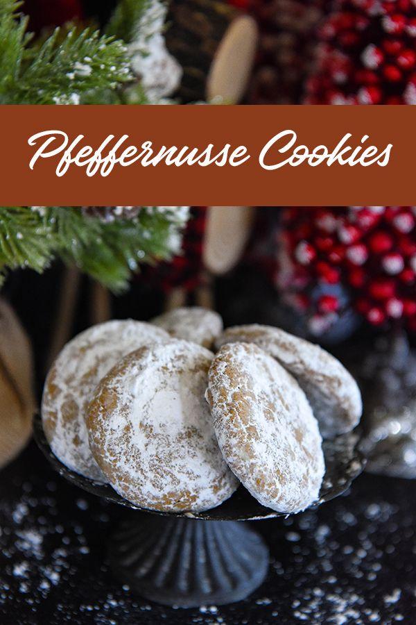Pfeffernusse Kekse