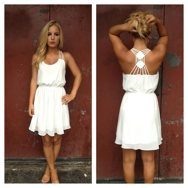 25  best ideas about White sundress on Pinterest | White summer ...