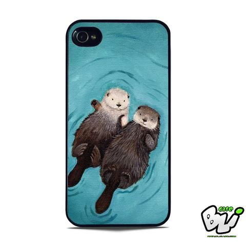 Romantic Swim Two Otterly iPhone 5 | iPhone 5S Case