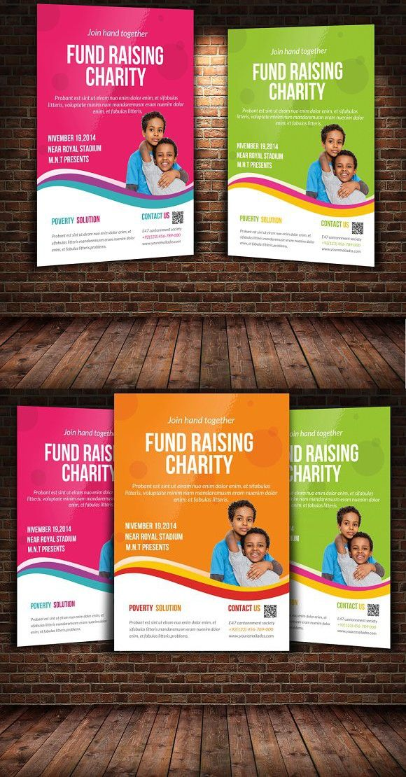 Charity Flyer Template A4 Flyer A4 Flyer Pinterest Flyer