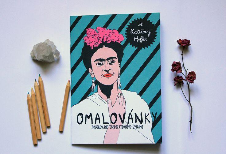 """Omalovánky+""""Inspirativní+ženy""""+Ručně+malovanéomalovánky+inspirované+inspirativními+ženami.+7+vyobrazení+žen+(Audrey+Hepburnová,+Jane+Goodallová,+Milada+Horáková,+Frida+Kahlo,+Anna+Franková,+Pina+Bausch,+Malála+Júsufzajová),+které+inspirují+svou+odvahou,+kreativitou,+obětavostí,+optimismem,+neústupností,+vnitřním+šarmem.+Uvědomila+jsem+si,+že+svět+dětem+nabízí+..."""