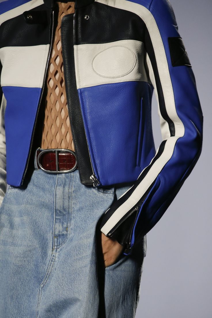 Alexander Wang Spring 2016 Ready-to-Wear Accessories Photos - Vogue  #Racer #BoldMesh #Denim