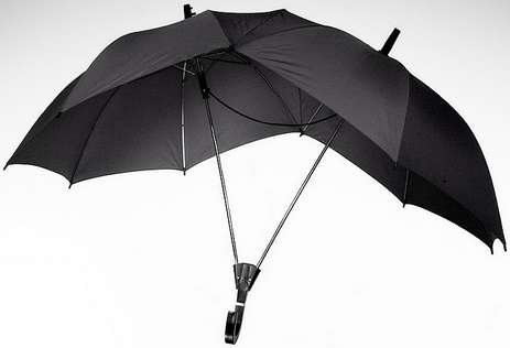 Two Person Umbrella – Helps you both to get home dry ( read more and see where you can buy - http://upgrade.ly/?p=104 )