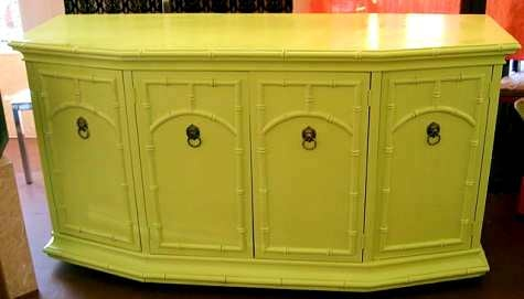 Luv the yellow Dresser...how can I incorporate this into my beachy cottage style of orange & blue??