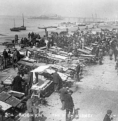 Brighton( originally called Brighthelmstone) was once a small fishing community.