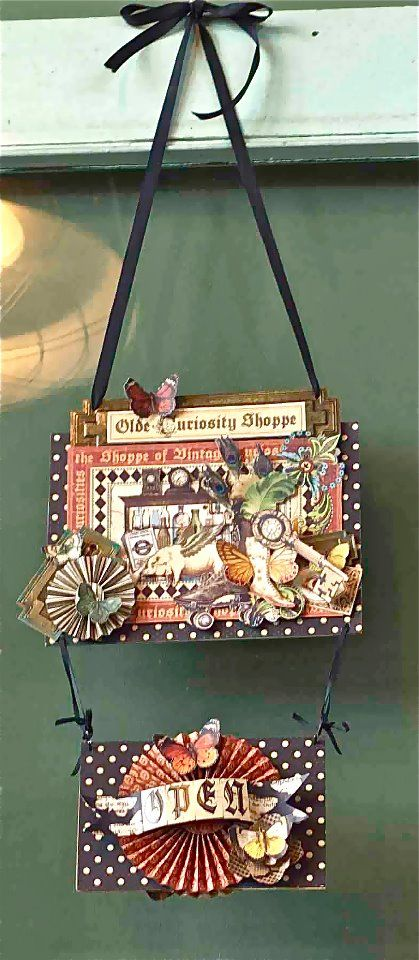 Hello, G45ers! Want to win an Olde Curiosity Shoppe kit? Here's another chance to win this project in our newest Pin It to Win It Contest. You have until Sunday, June 17 at Midnight PST to repin this kit. Repin and comment below and you could be our winner! Have fun, G45ers!: Curiosities Shoppe, June 17, Curio Shoppe, Shoppe Kits, Newest Pin, Graphics 45, Have Fun, Midnight Pst, Altered Papercardsphoto