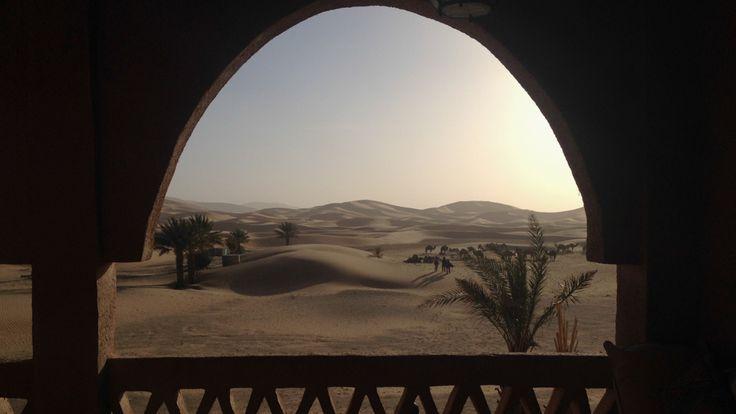 Amanhecer no deserto do Saara