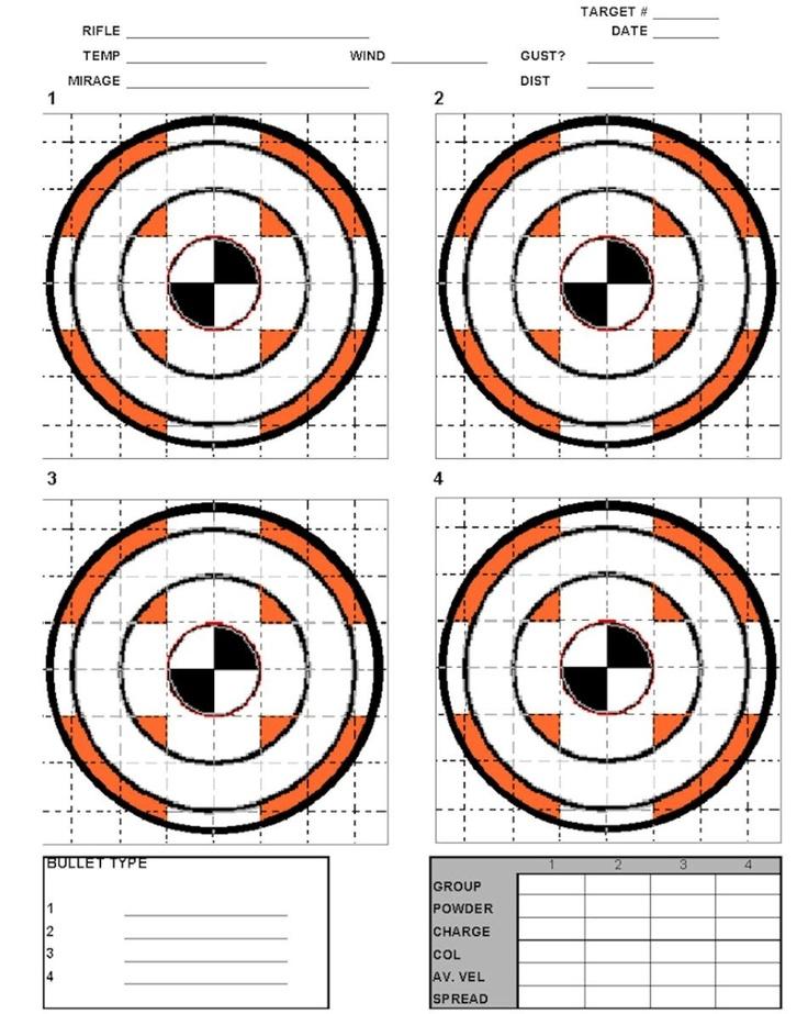 printable air rifle targets pdf
