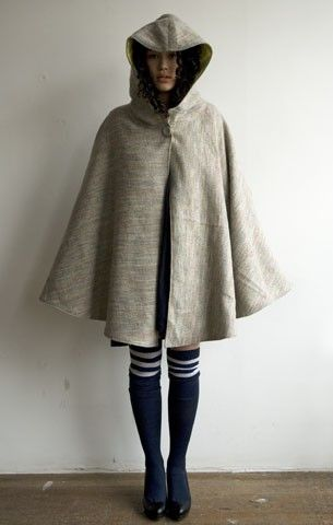 DIY Couture - How to Make a Cloak (I'm not making this, just looks like a fun pin)