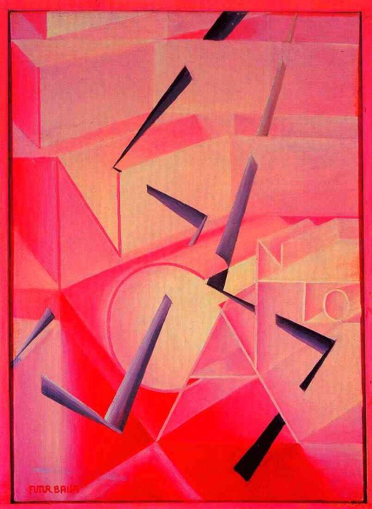 Giacomo Balla - The spell is broken, 1920, oil on canvas