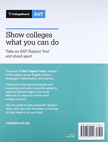 How to study for the english sat subject test