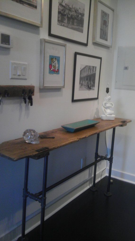 Reclaimed Wood Console Table by LeventhalVermaat on Etsy, $475.00