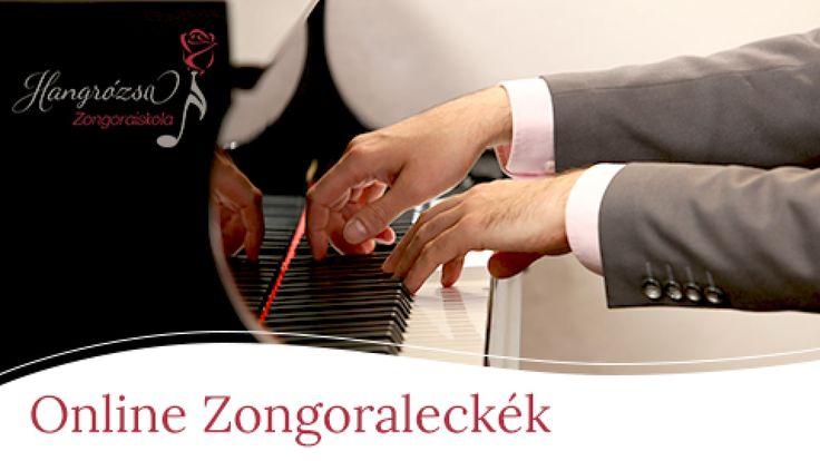 Az Online Zongoraleckék című kurzuson keresztül belekóstolhatsz, hogyan működik az online zongoratanulás videók és kottamellékletek segítségével. A videókon profilból és felülnézetből is megtekintheted a zongorajátékot, majd utánam játszhatod. Ha ismered a kottát, kinyomtathatod a mellékleteket, és használhatod őket a gyakorláshoz.
