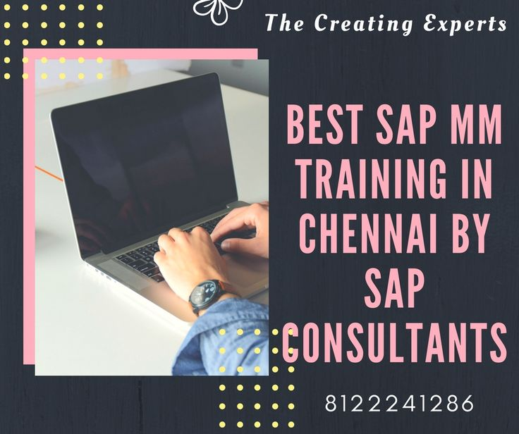 Advance #SAP #MM Training in #Chennai Contact us:8122241286 http://bit.ly/1TamQBK