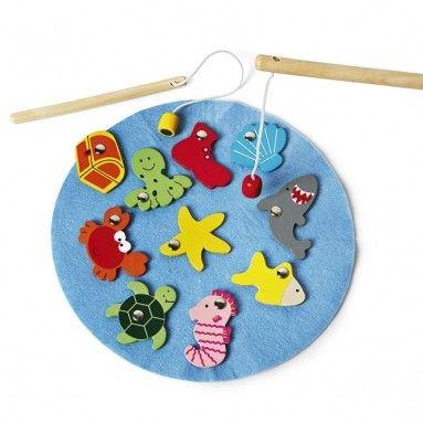 ...en vang de meeste vissen. Want als je de meeste vissen uit de vijver hebt gevist win je het spel!