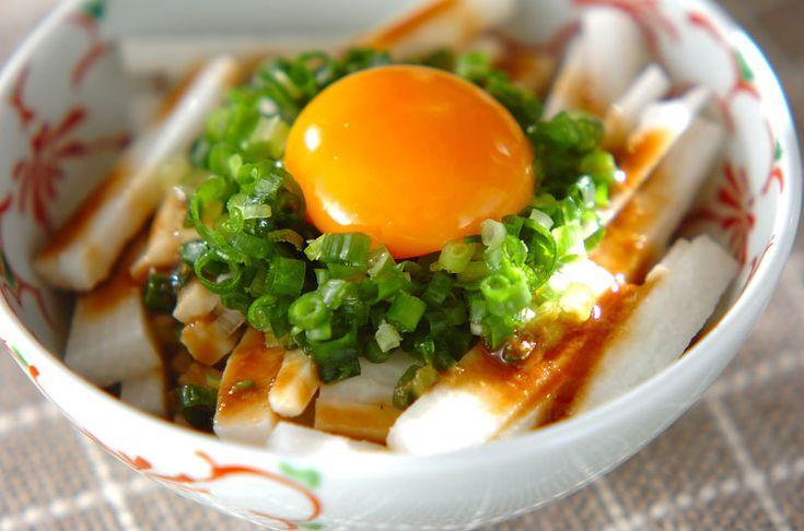 長芋のサラダのレシピ・作り方 - 簡単プロの料理レシピ | E・レシピ