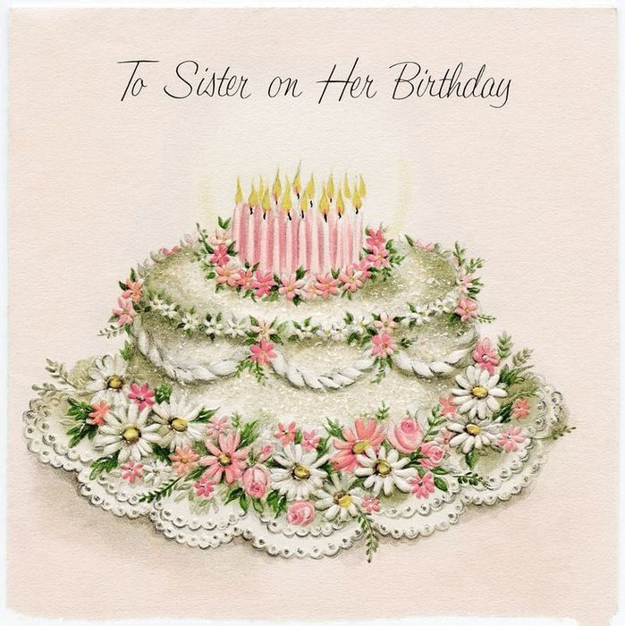 201 best Vintage Art Birthday Cards images on Pinterest Happy - birthday greetings download free