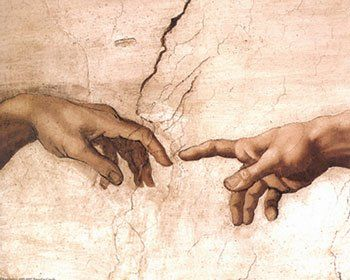da vinci religious paintings | Creation of Adam by Michelangelo Buonarroti - Buy poster at Art.com