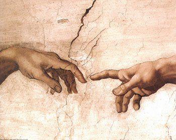 da vinci religious paintings | Creation of Adam by Michelangelo Buonarroti - Buy poster at Art.com