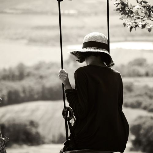 kristin mckee: Hats, Time, Black Photos, Art Inspiration, Swings, White, Bw Photography, Solitude, Kirstin Mckee