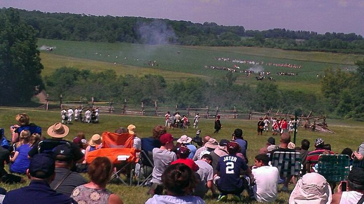 235th Anniversary Reenactment of the Battle of Monmouth, Day 1.