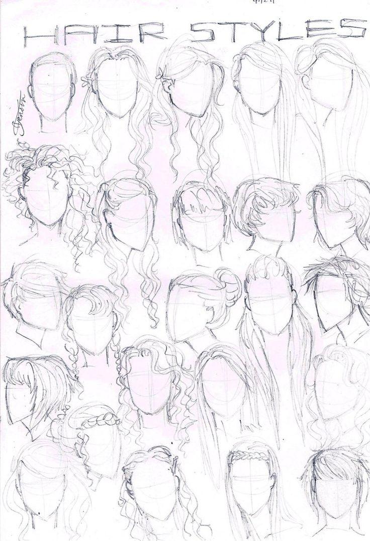 deviantART: More Like Tutorial: Girls Face by ~rararachelmarie