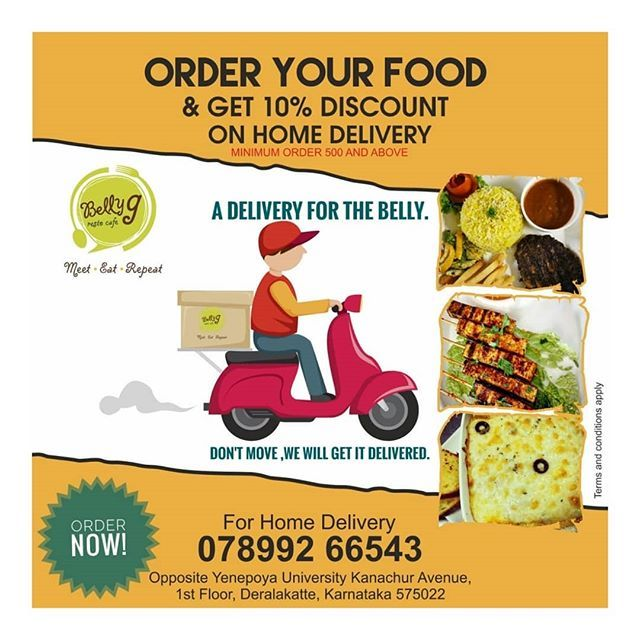 Heard Of Getting Discount On Home Delivered Food Belly G Gets