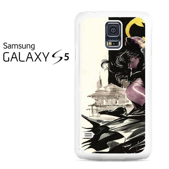 Catwoman And Batman In Love Samsung Galaxy S5 Case
