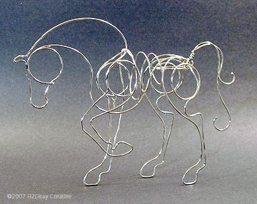 Spotlight On The Artist: Angela Hook | Hook Wire Art – Wire Sculpture by Angela Hook – Oliver, BC